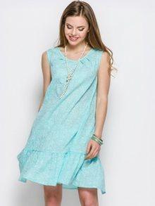 Zoe Dámské šaty 15363-2_turquoise