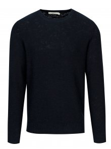 Tmavě modrý svetr Jack & Jones Ewan