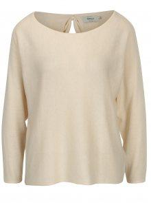 Béžový lehký svetr s mašlí na zádech ONLY Sophina