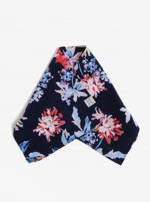 Tmavě modrý květovaný šátek Tom Joule Myriam
