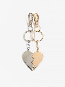 Sada dvou přívěsků ve tvaru srdce Pieces Maria