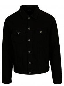 Černá džínová bunda Jack & Jones Earl