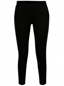 Černé kalhoty Jacqueline de Yong Alfa