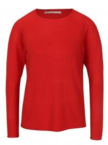 Červený lehký svetr ONLY Mila