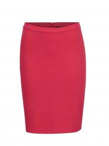 Růžová vzorovaná sukně VERO MODA Jazelda