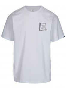 Bílé pánské tričko s potiskem Vans New Checker