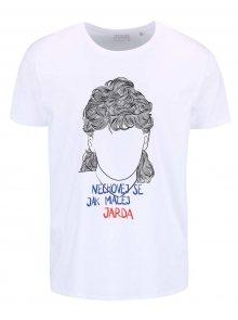 Bílé pánské tričko ZOOT Originál Jarda