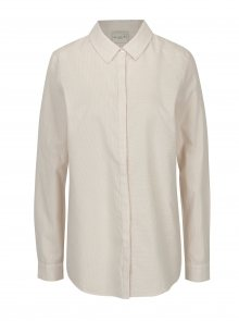 Krémovo-starorůžová pruhovaná košile Selected Femme Noella