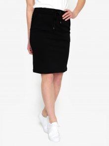 Černá sukně s pružným pasem Selected Femme Sadie