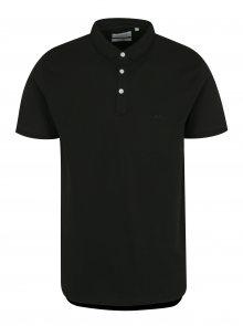Černé pánské polo tričko Lindbergh
