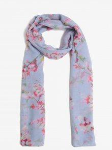 Světle modrý šátek s růžovými květy Tom Joule Wensley