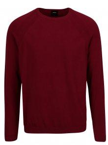 Červený svetr Burton Menswear London