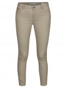 Béžové regular skinny džíny ONLY Kendell