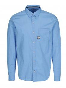 Modrá pánská slim fit košile s.Oliver