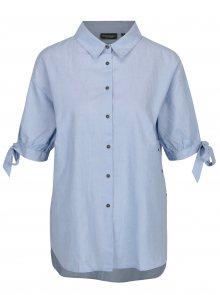 Modrá košile s krátkým rukávem Broadway Belle
