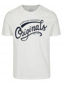 Krémové tričko s potiskem Jack & Jones New Raffa