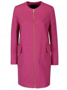Růžový dámský kabát Pietro Filipi