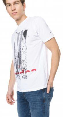 Ravenscourt Triko Pepe Jeans   Bílá   Pánské   S