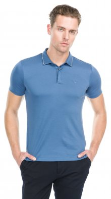 Polo triko Armani Jeans | Modrá | Pánské | XXL