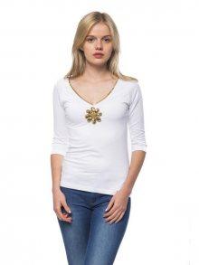 Trussardi Collection Dámské tričko D34TRC1024_Bianco/White
