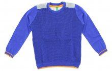 Svetr dětský United Colors of Benetton   Modrá Šedá   Chlapecké   4-5 let