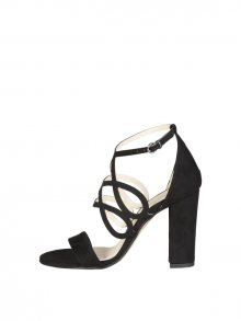 Made in Italia Dámské sandály na podpatku CARINA_NERO\n\n