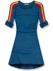 Jeans modré šaty/tunika