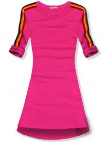 Fuchsiové šaty/tunika