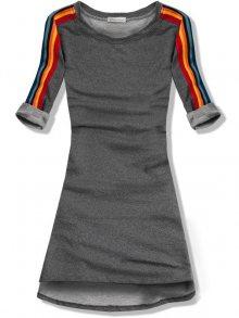 Tmavě šedé šaty/tunika