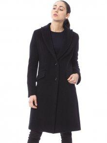 Trussardi Collection Dámský vlněný kabát D21TRC7001_113/Black