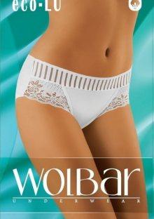 Dámské kalhotky WOLBAR ECO-LU L Bílá