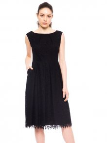 Trussardi Collection Dámské šaty D20TRC1029_Nero/Black