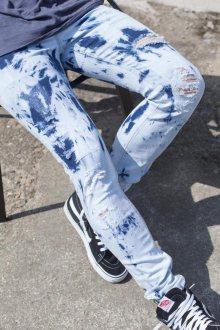 Džíny Tie And Dye modrá 31