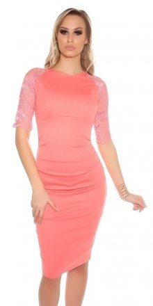 Koucla Elegantní pouzdrové šaty