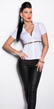 Koucla Elegantní košile s krátkými rukávy