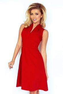 Numoco Červené dámské šaty 133-3