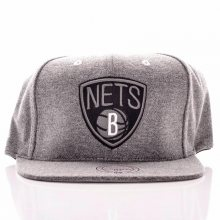 Snapback Brooklyn Nets šedá Standardní