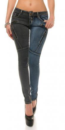 Koucla Černomodré dámské džíny