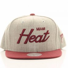 Snapback NBA Miami Heat šedá Standardní