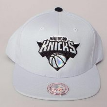 Snapback NBA New York Knicks šedá Standardní