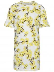 Žluto-krémové holčičí šaty name it Diana