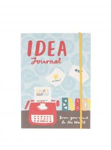 Modrý designový zápisník Galison