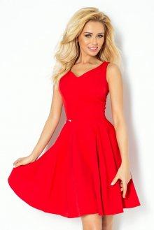 Numoco Červené dámské šaty 114-3
