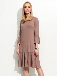 Folly Dámské šaty F03_cappuccino