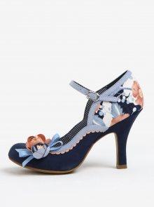 Tmavě modré vzorované lodičky Ruby Shoo Silvia