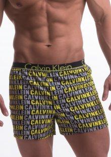 Trenýrky Calvin Klein NU8653 žlutý tisk M Dle obrázku