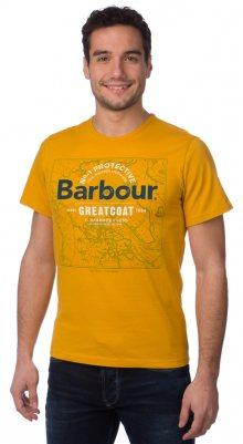 Barbour Tričko MTS0117_aw15 S žlutá\n\n