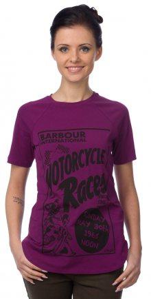 Barbour Tričko LTS0076_aw15 XL fialová\n\n