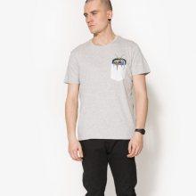 Confront Tričko Ss Radio Muži Oblečení Trička Cf17Tsm65001 Muži Oblečení Trička Bílá US L