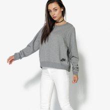 Nike Mikina W Nsw Modern Crew Ssnl Ženy Oblečení Mikiny 883807-091 Ženy Oblečení Mikiny Šedá US M